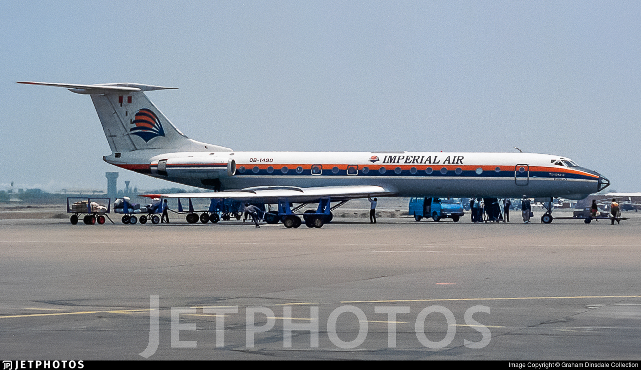 OB-1490 - Tupolev Tu-134A-3 - Imperial Air