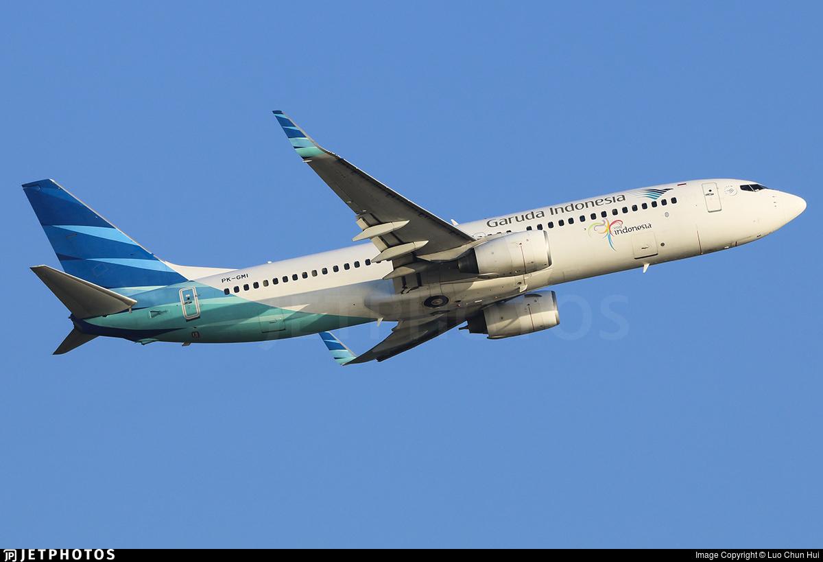 PK-GMI - Boeing 737-8U3 - Garuda Indonesia