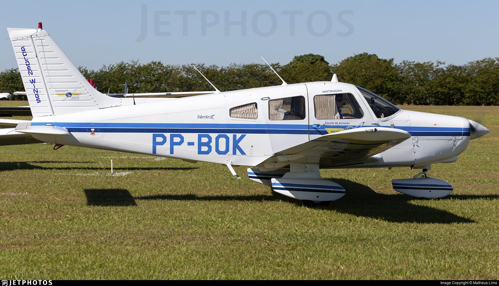 PP-BOK - Piper PA-28-161 Warrior II - Golden Wings