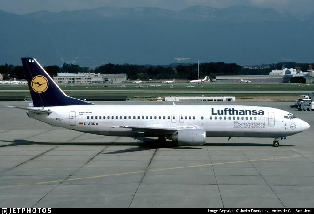 D-ABKA - Boeing 737-430 - Lufthansa Express