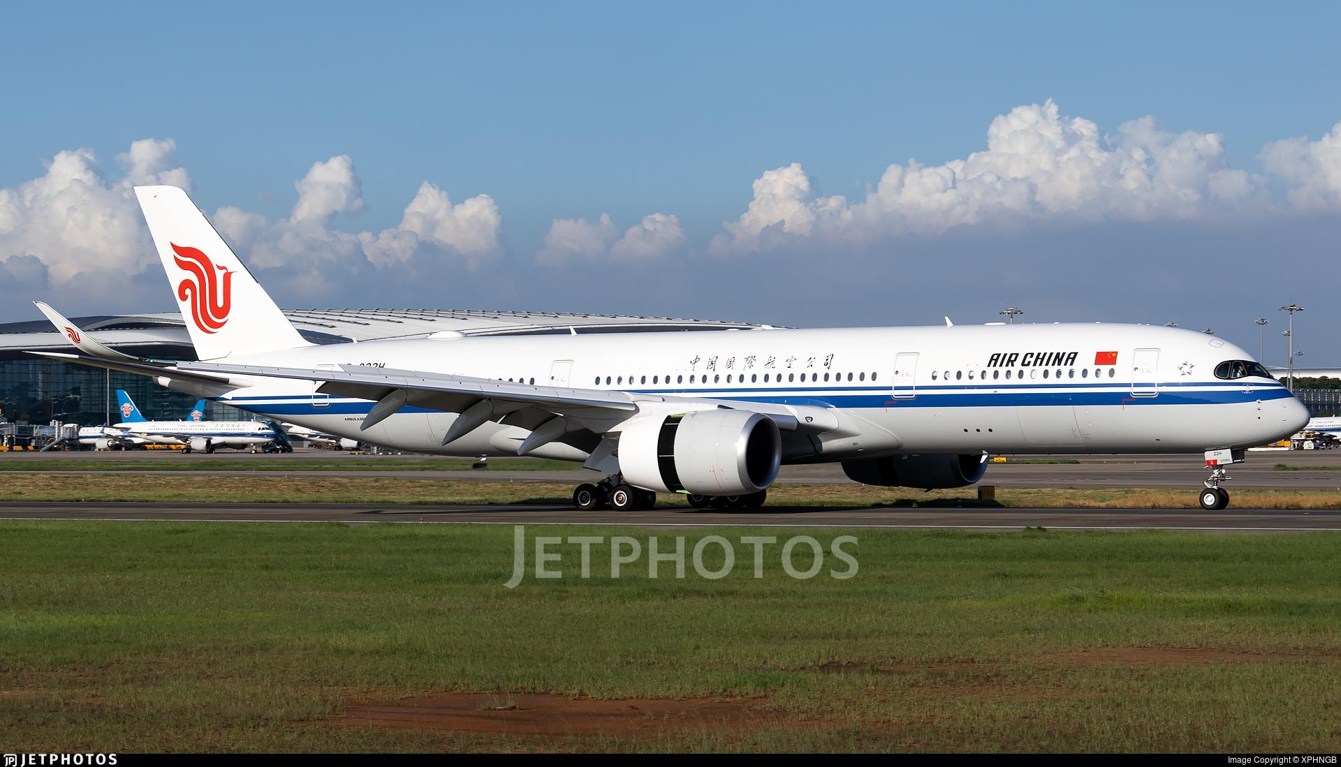 B-322H - Airbus A350-941 - Air China