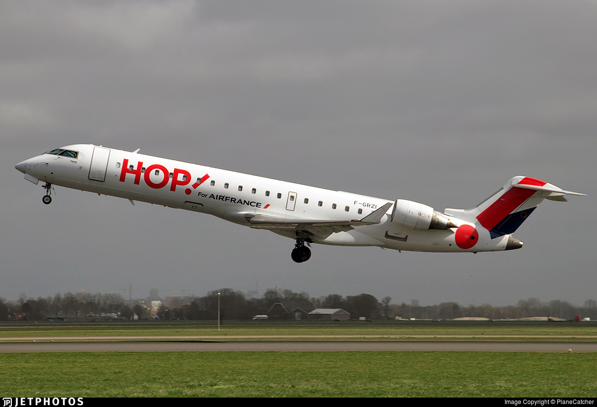 F-GRZI - Bombardier CRJ-701 - HOP! for Air France