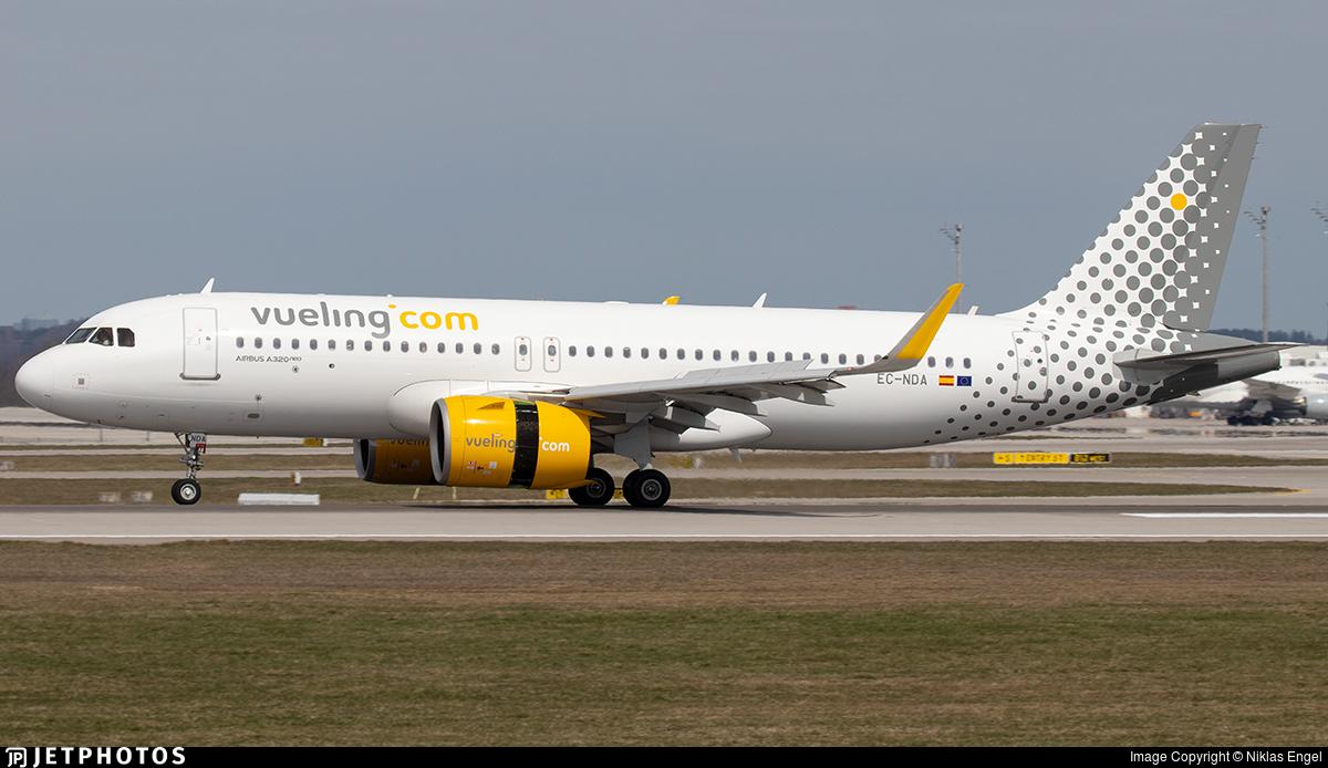 EC-NDA - Airbus A320-271N - Vueling