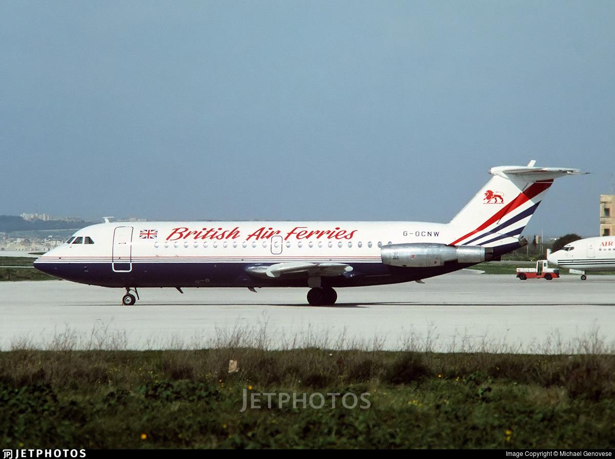G-OCNW - British Aircraft Corporation BAC 1-11 Series 201AC - British Air Ferries (BAF)