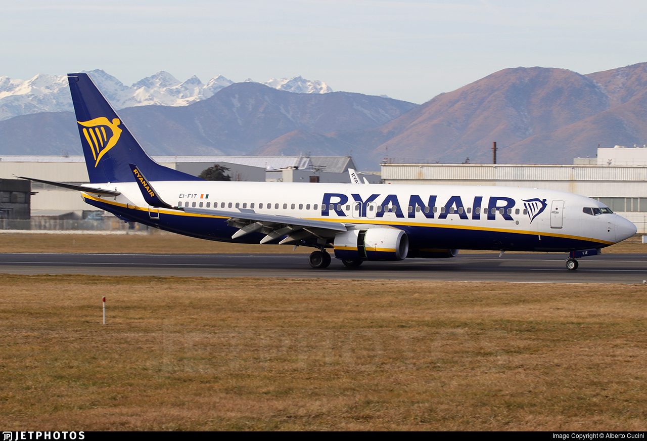 EI-FIT - Boeing 737-8AS - Ryanair