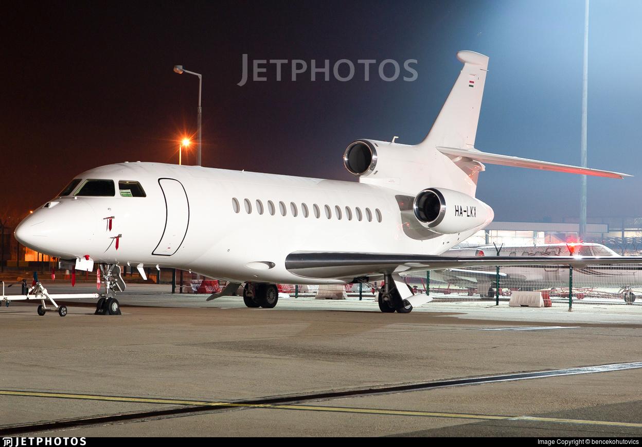 HA-LKX - Dassault Falcon 7X - Private