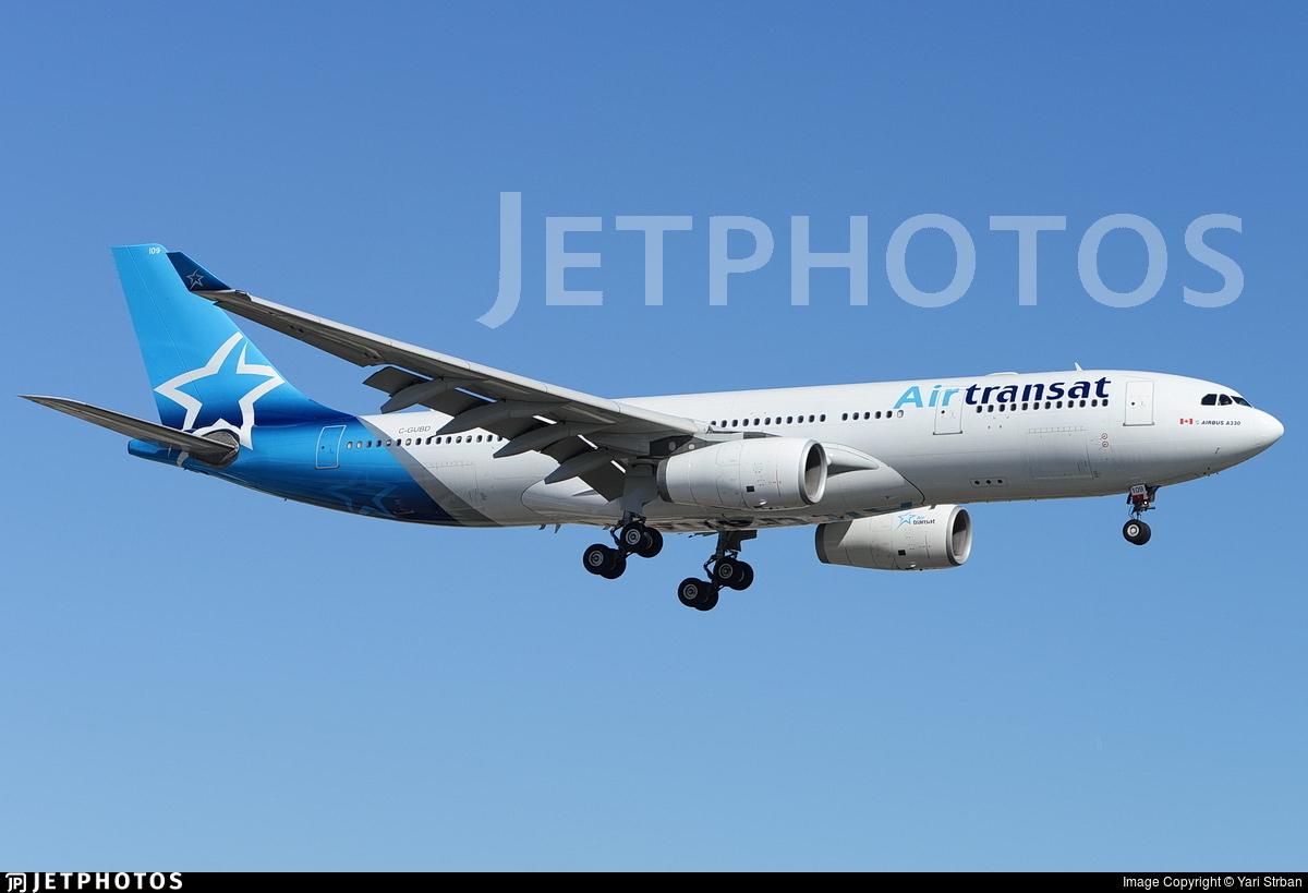 C Gubd Airbus A330 243 Air Transat Yari Strban Jetphotos