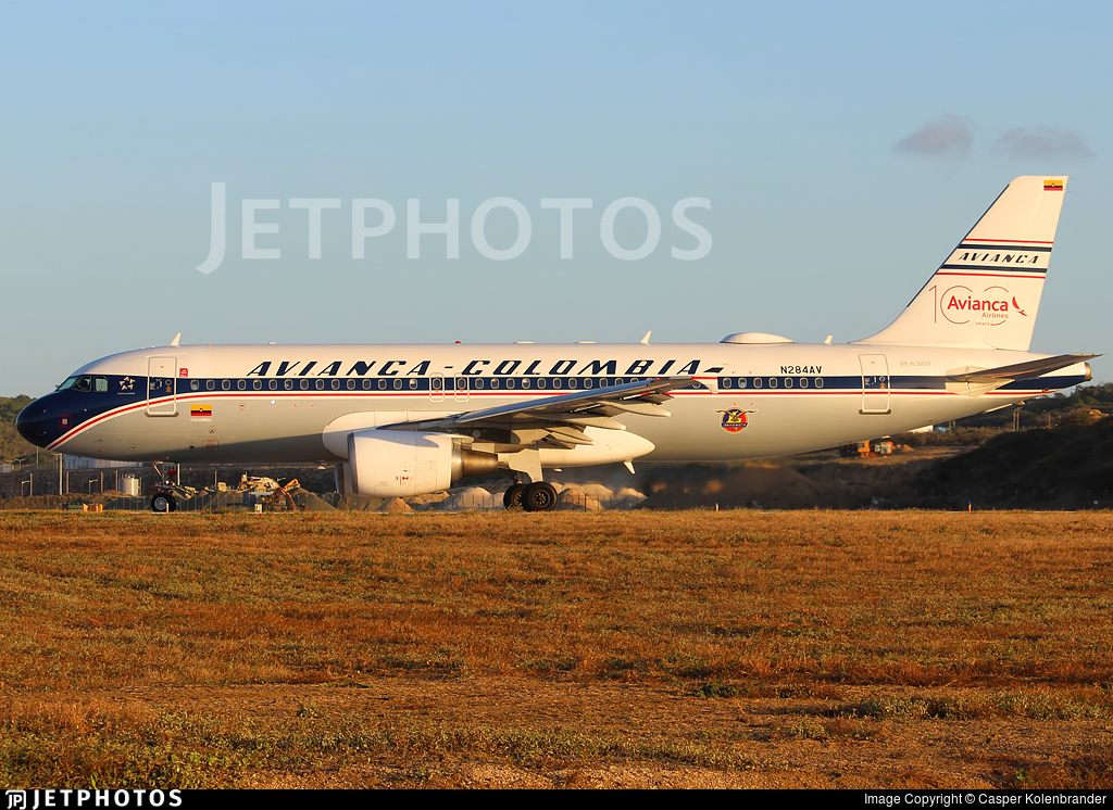 N284AV - Airbus A320-214 - Avianca
