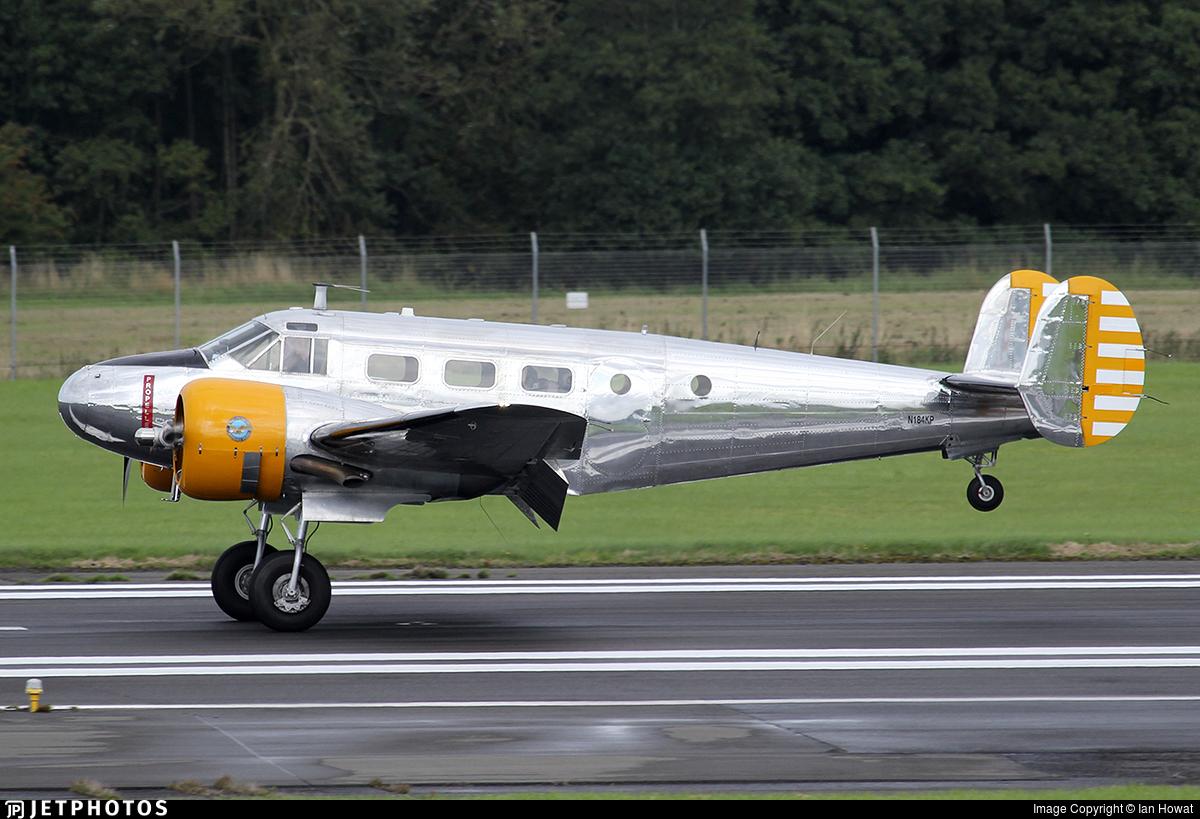 N184KP - Beech CT-128 Expeditor Mk.3TM - Private