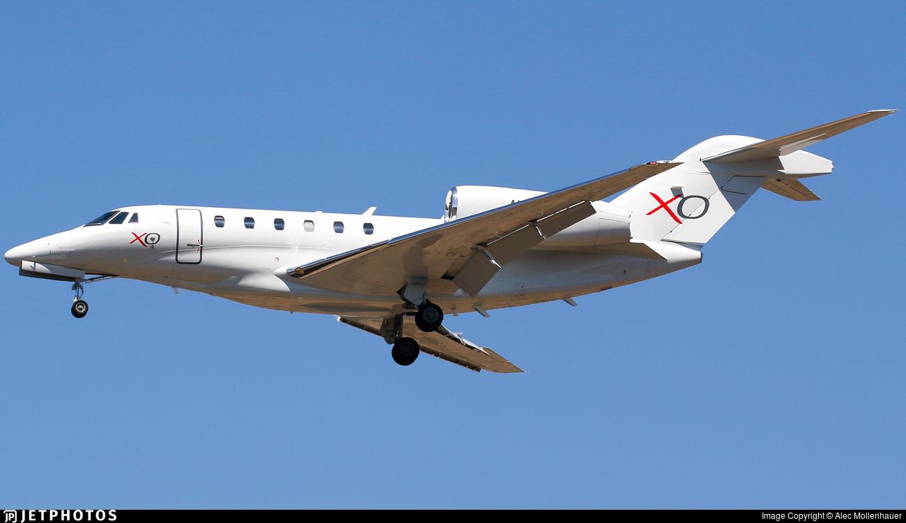 N760XJ - Cessna 750 Citation X - XOJet