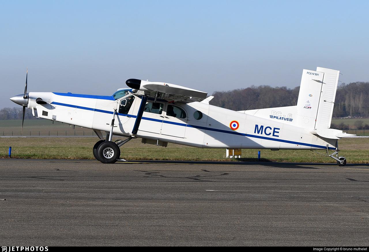 F-MMCE | Pilatus PC-6/B2-H4 Turbo Porter | France - Army