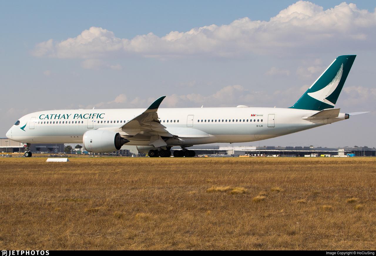 B-LRI - Airbus A350-941 - Cathay Pacific Airways