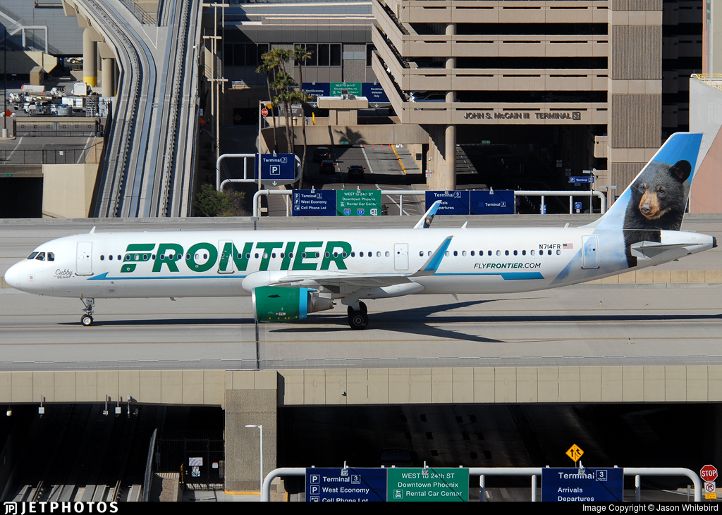 N714FR - Airbus A321-211 - Frontier Airlines