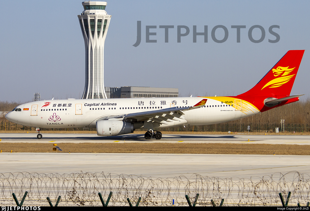 B-8549 - Airbus A330-243 - Capital Airlines