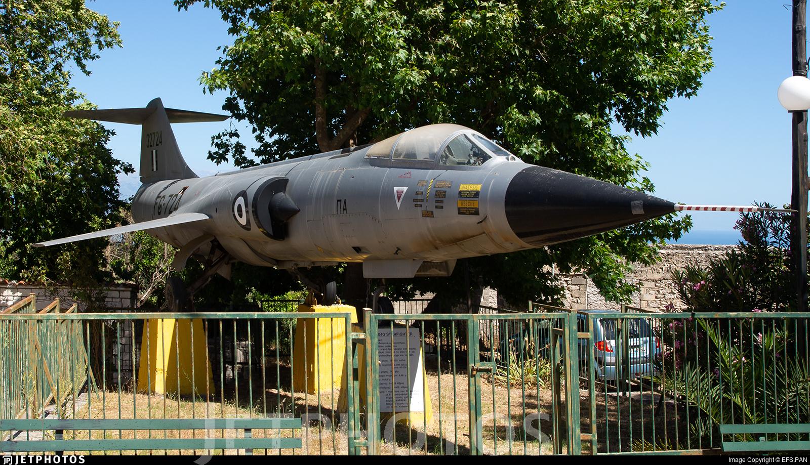32724 - Lockheed F-104G Starfighter - Greece - Air Force