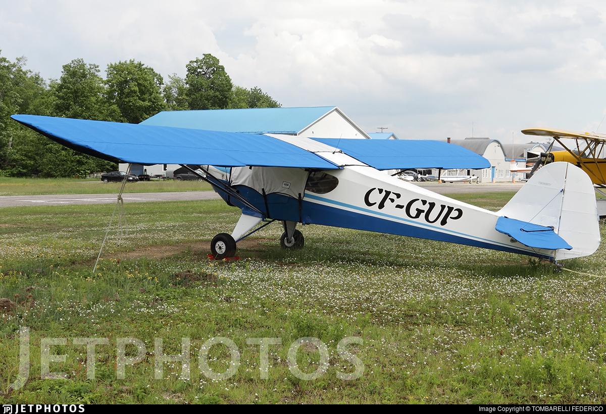 CF-GUP - Taylorcraft BC-12D - Private