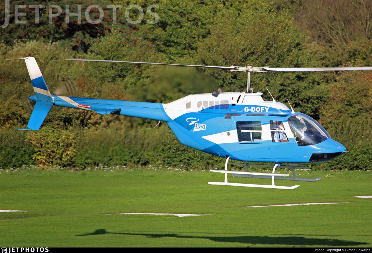 G-DOFY - Bell 206B JetRanger III - Castle Air Charters