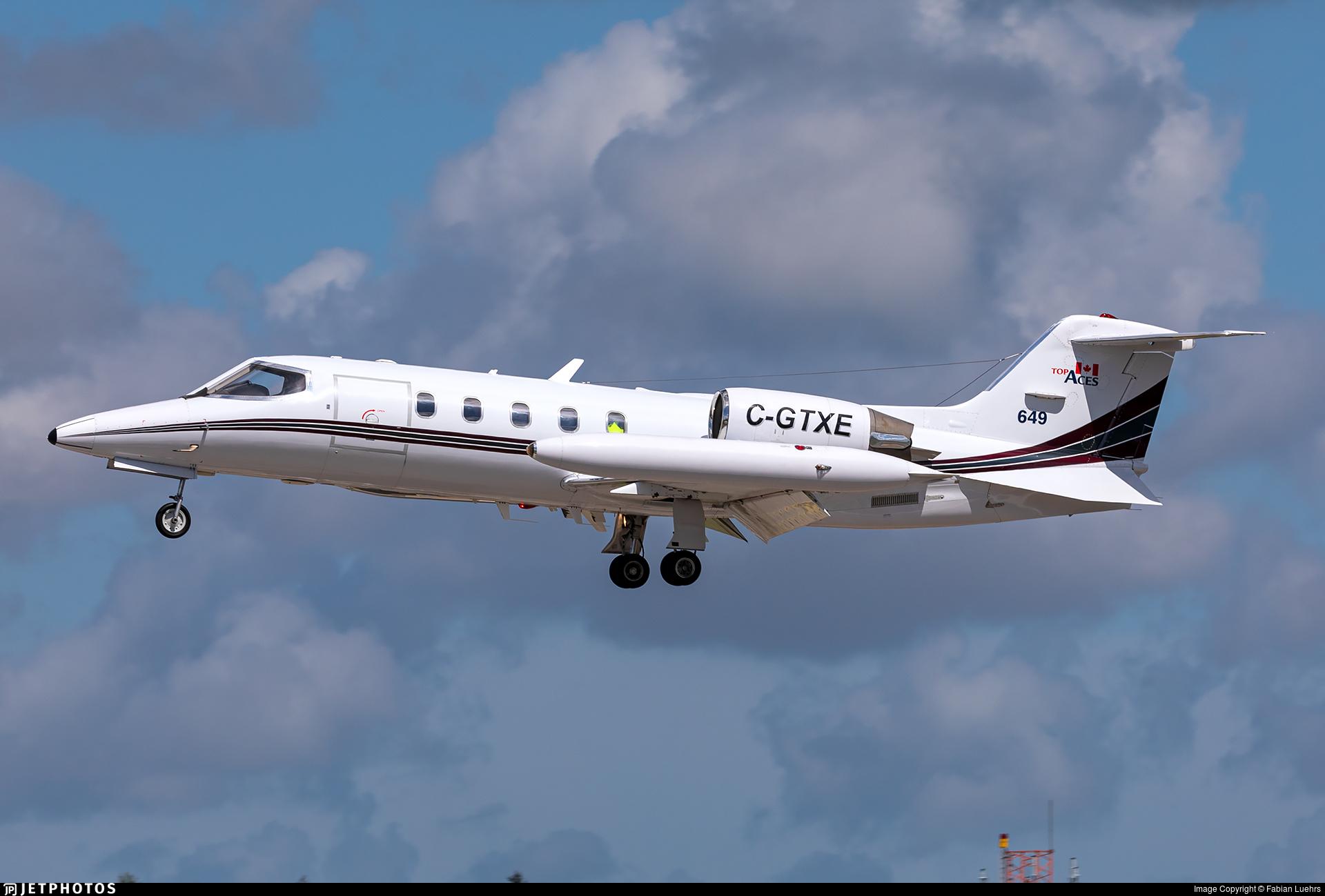 C-GTXE - Gates Learjet 35A - Top Aces