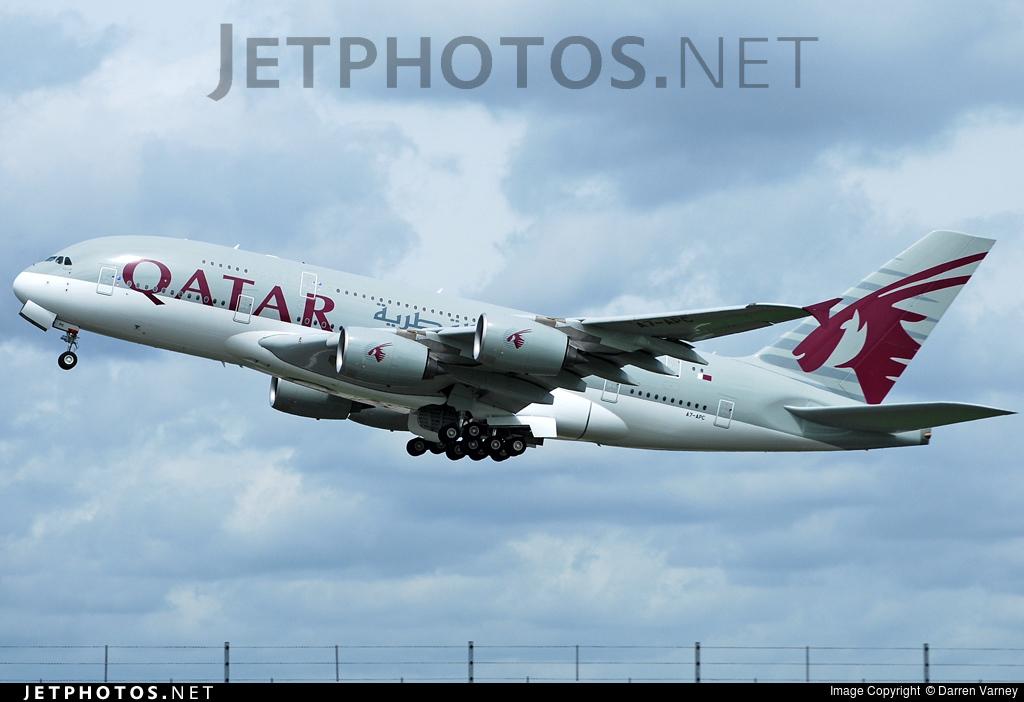 A7-APC - Airbus A380-861 - Qatar Airways