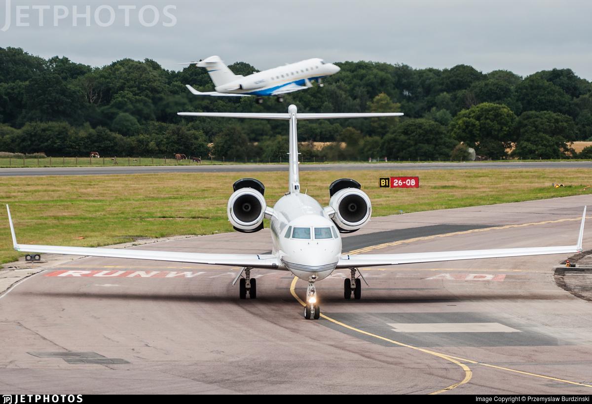 VQ-BZM - Gulfstream G450 - Private