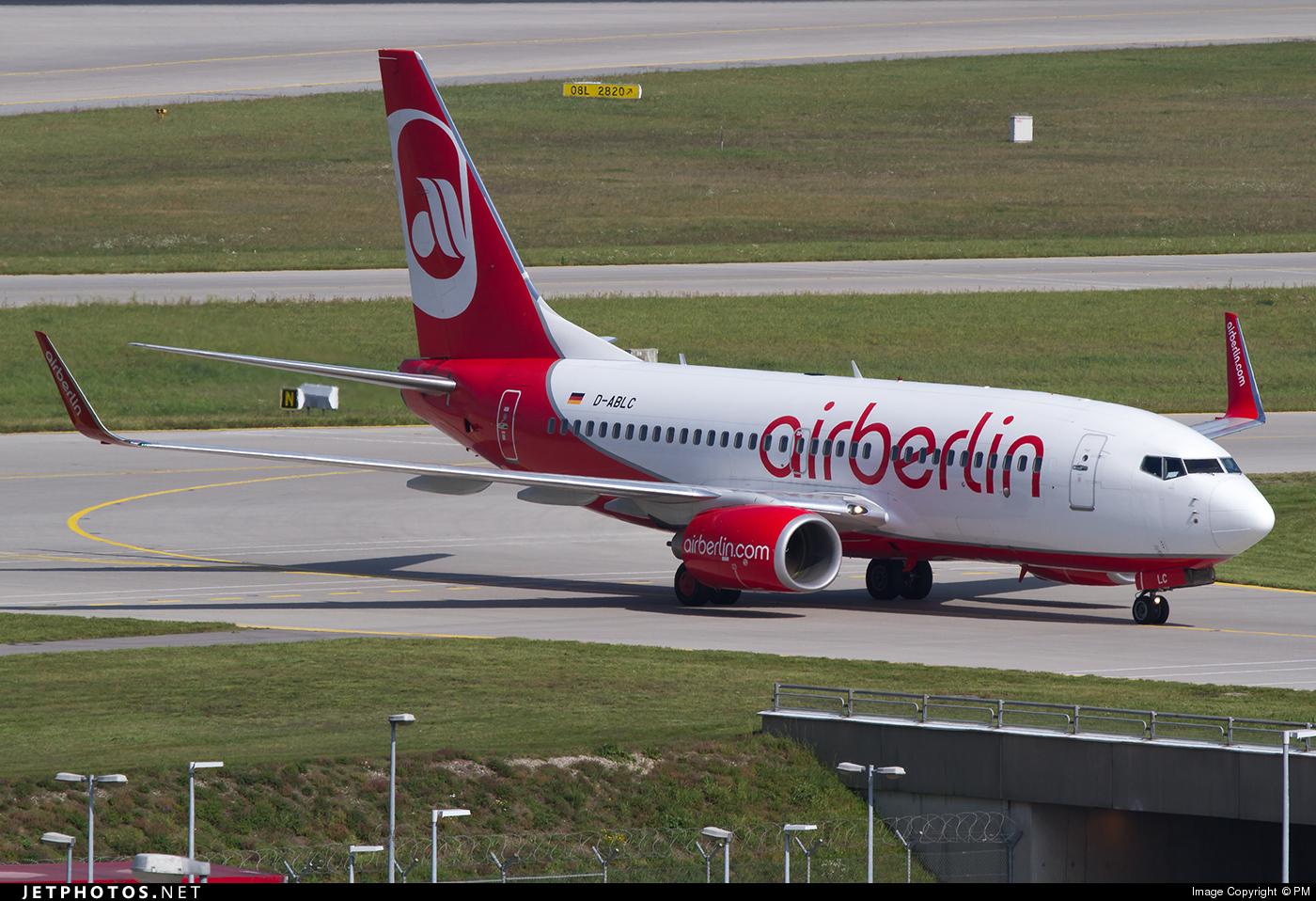 D-ABLC - Boeing 737-76J - Air Berlin
