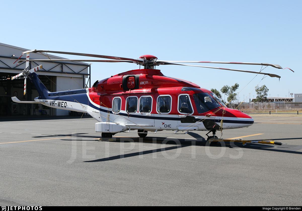 VH-WEQ - Agusta-Westland AW-189 - CHC Helicopters Australia