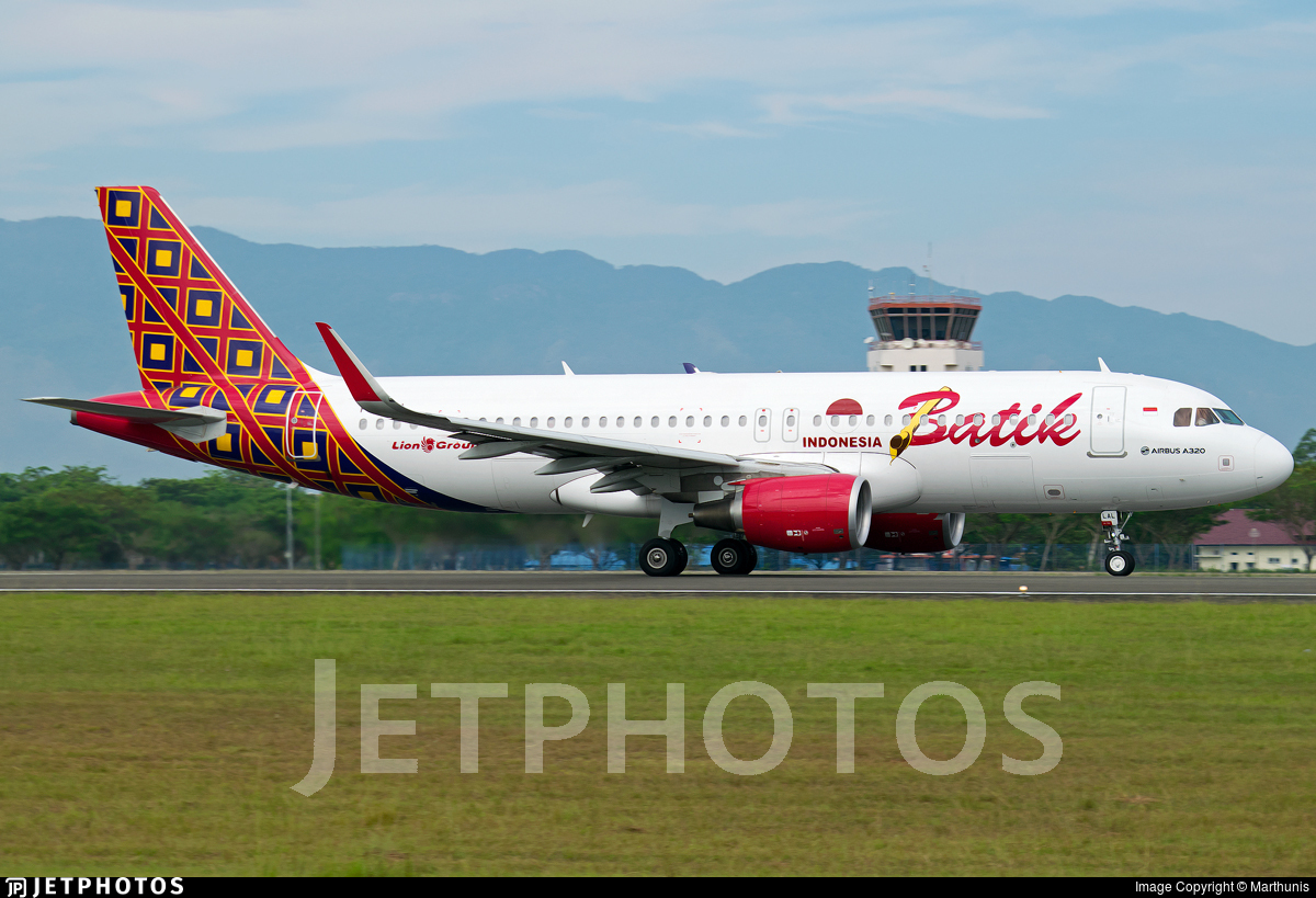 Pk lal airbus a320 214 batik air marthunis jetphotos pk lal airbus a320 214 batik air stopboris Choice Image