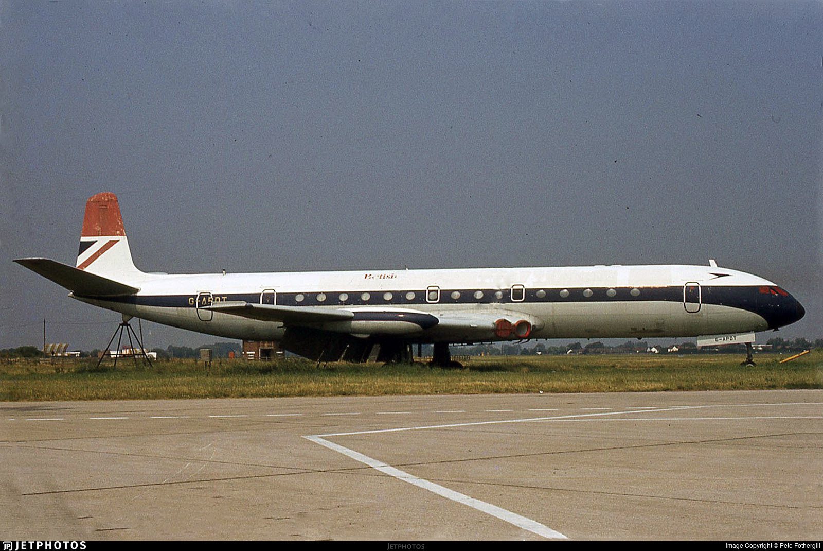 G-APDT - De Havilland DH-106 Comet 4 - British Airways