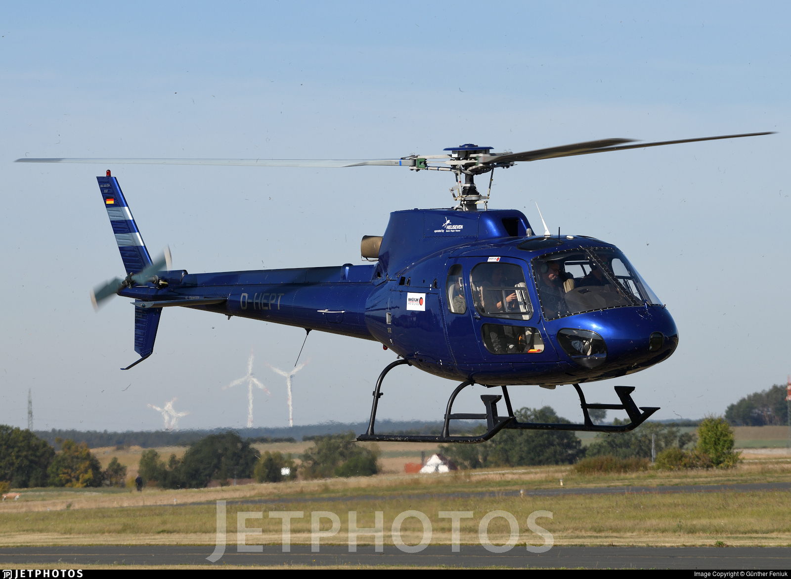 D-HEPT - Eurocopter AS 350BA Ecureuil - Heliseven