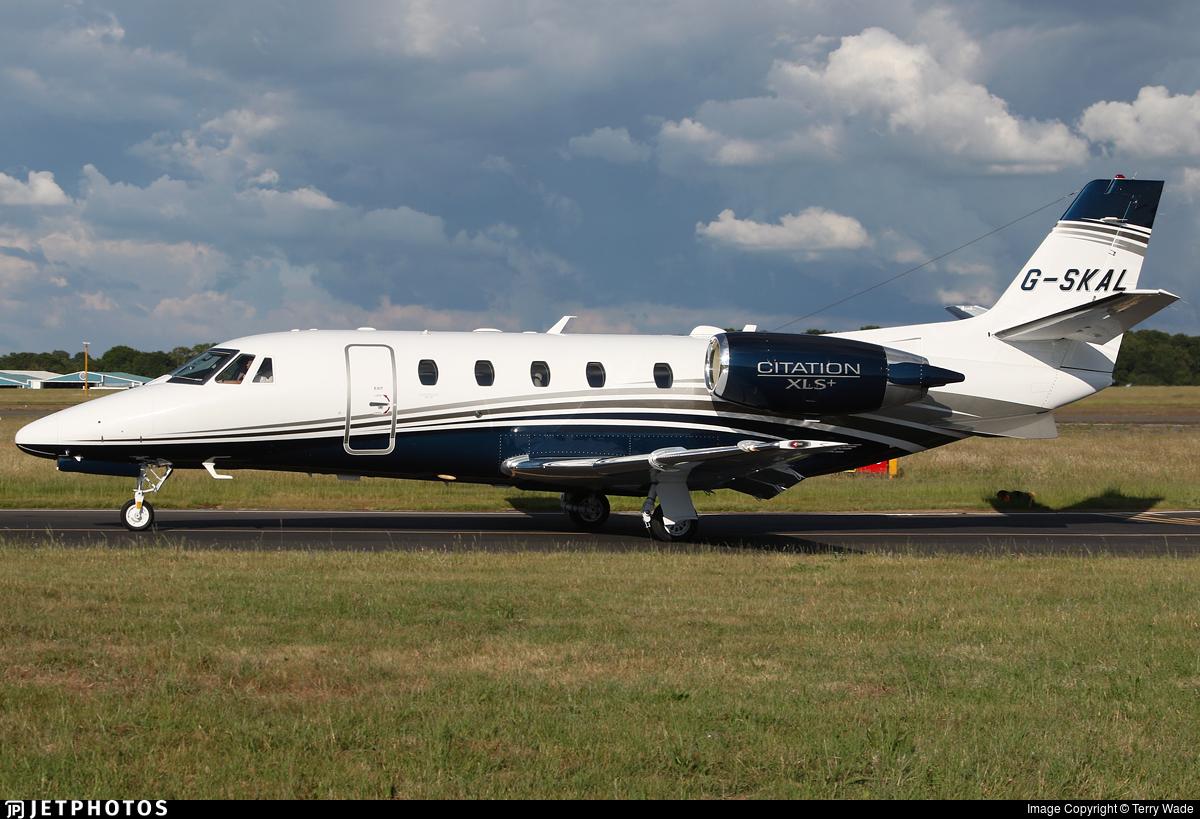 G-SKAL - Cessna 560XL Citation XLS+ - Private