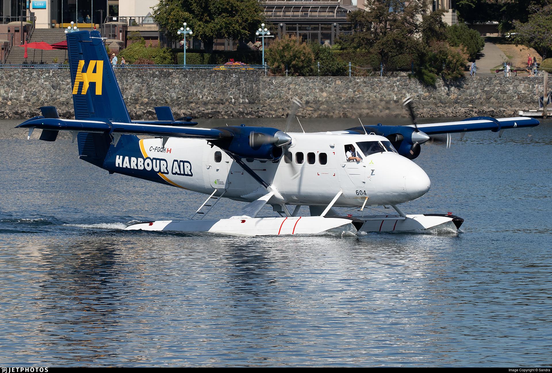 C-FGQH - De Havilland Canada DHC-6-100 Twin Otter - Harbour Air
