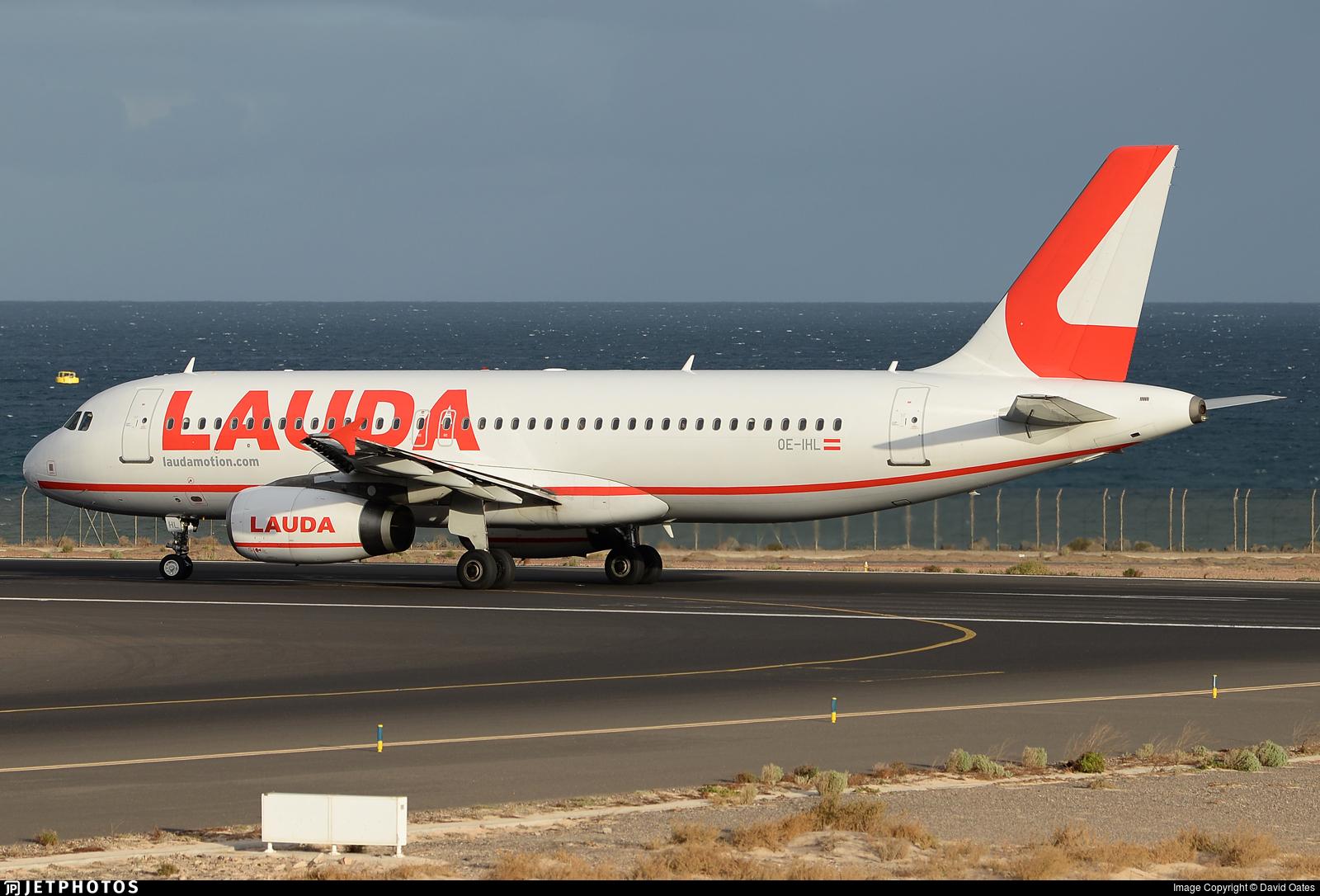 OE-IHL - Airbus A320-232 - LaudaMotion