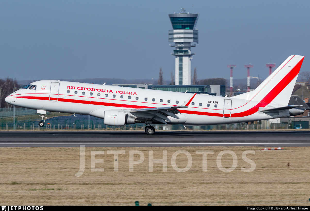 SP-LIH - Embraer 170-200LR - Poland - Government (LOT Polish Airlines)