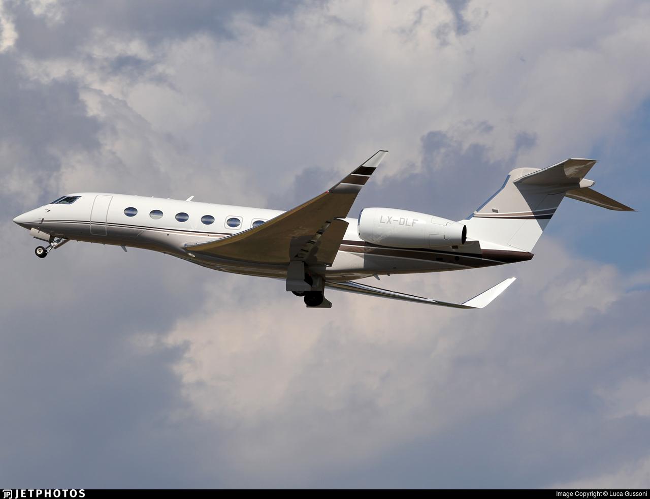 LX-DLF - Gulfstream G650 - Private