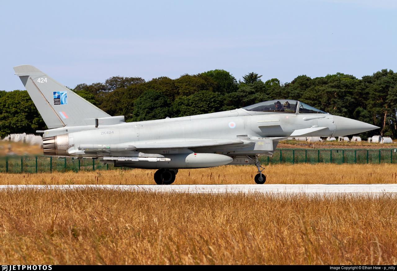 ZK424 - Eurofighter Typhoon FGR.4 - United Kingdom - Royal Air Force (RAF)