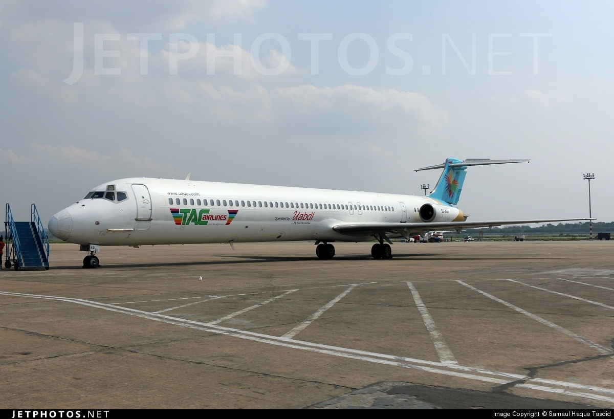 S2-AEI - McDonnell Douglas MD-83 - TAC Airlines