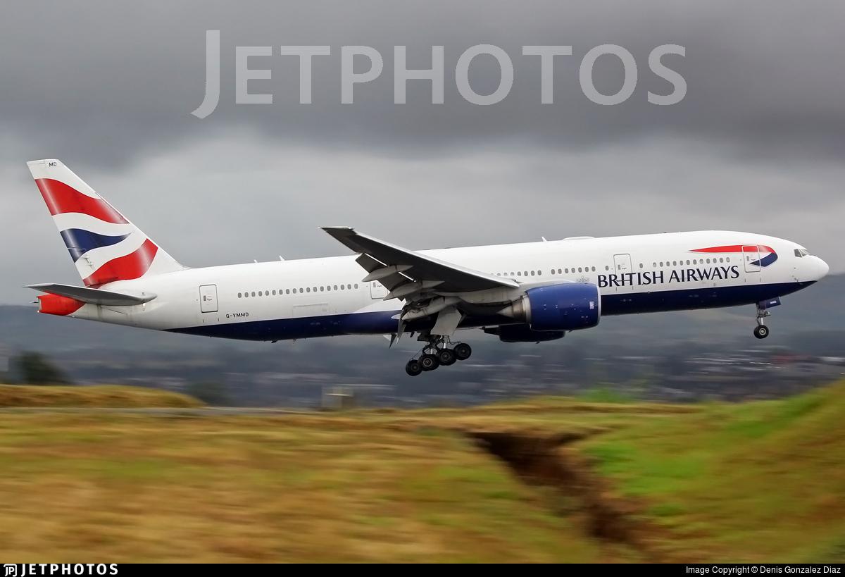 G-YMMD - Boeing 777-236(ER) - British Airways