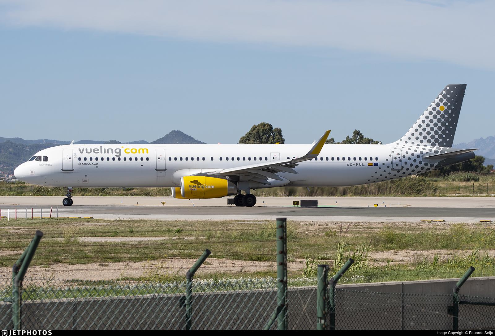 EC-MQL - Airbus A321-231 - Vueling