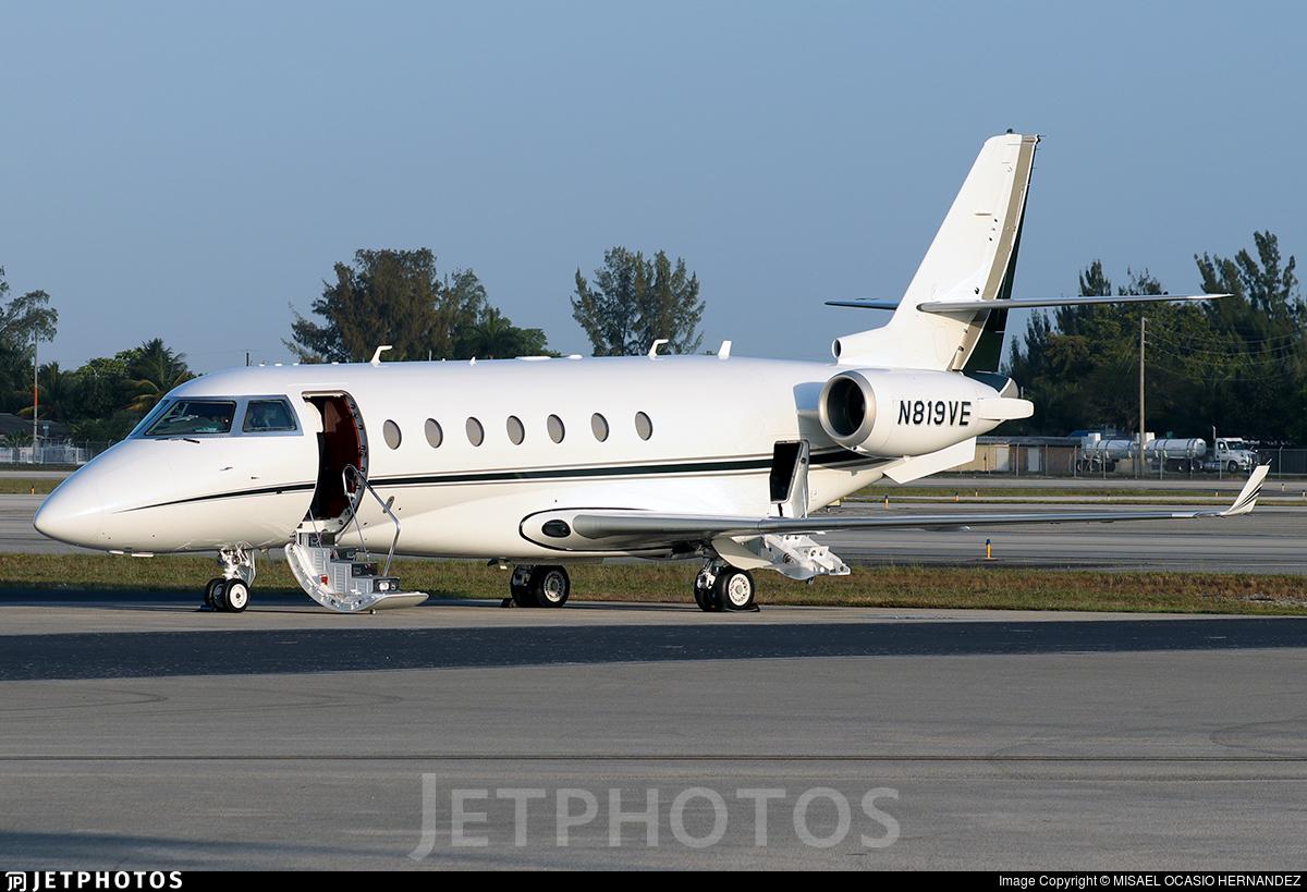 N819VE - Gulfstream G200 - Private