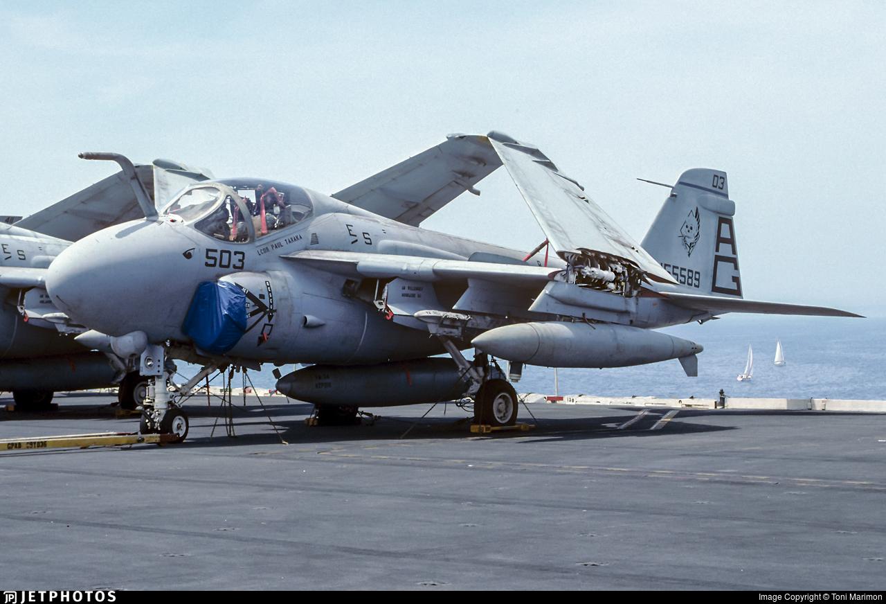 155589 - Grumman A-6E Intruder - United States - US Navy (USN)