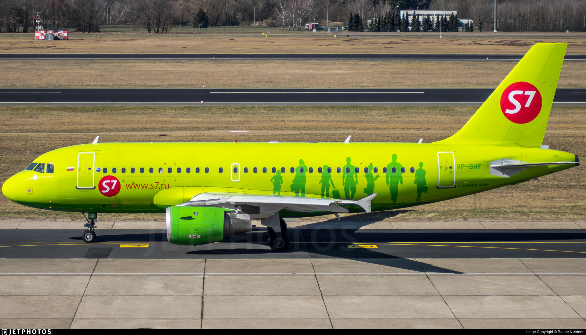 VP-BHF - Airbus A319-114 - S7 Airlines