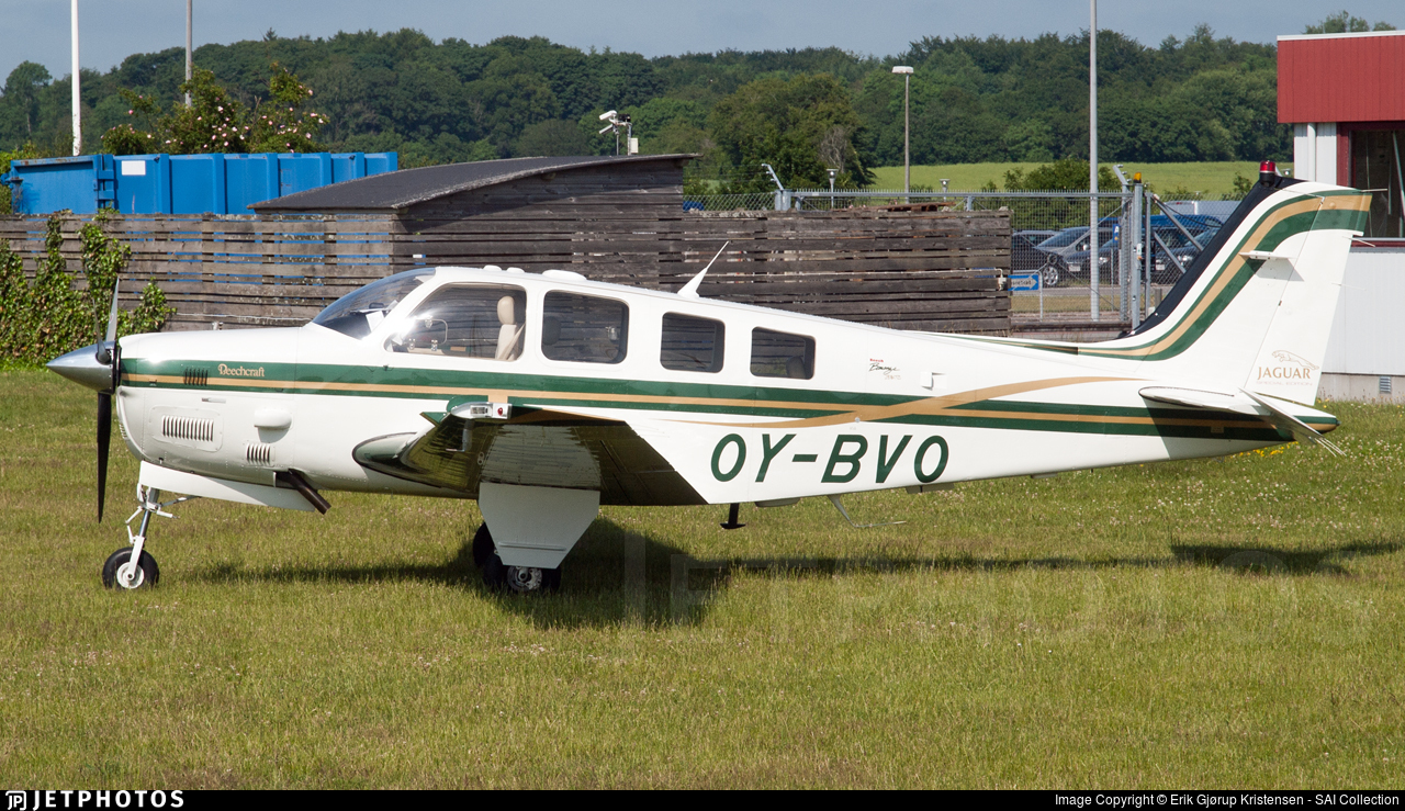 OY-BVO - Beechcraft B36TC Bonanza - Private
