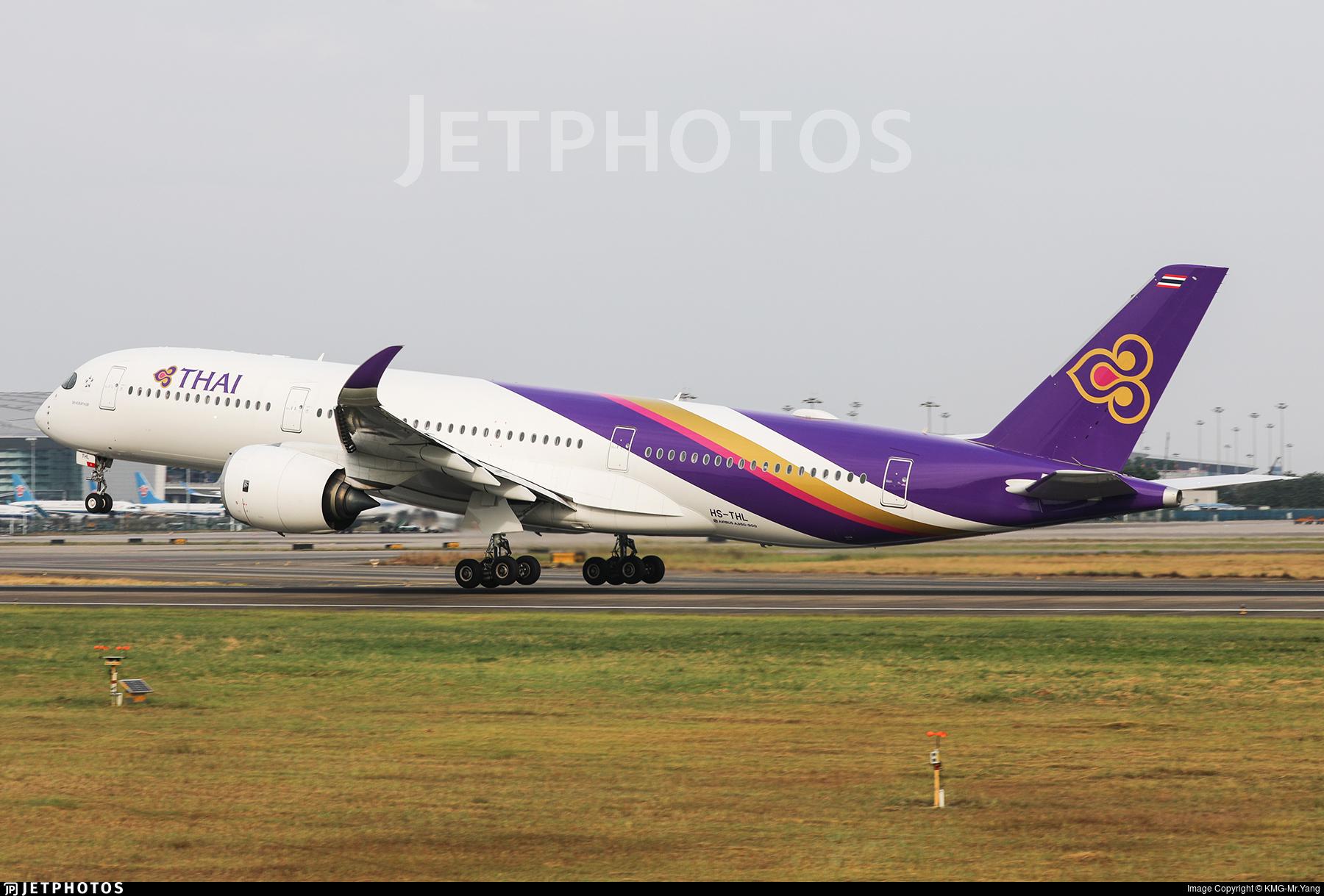 HS-THL - Airbus A350-941 - Thai Airways International