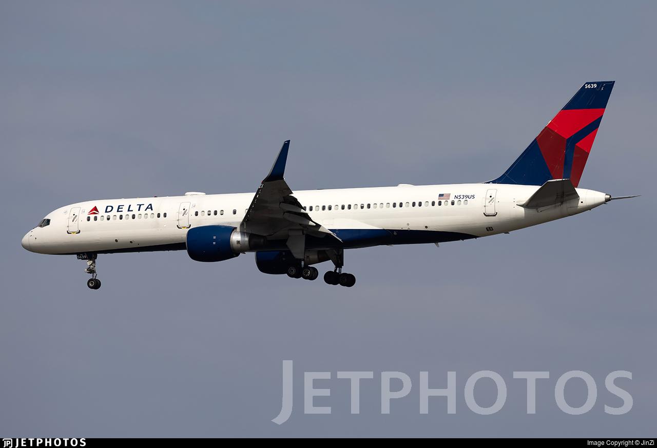 N539US - Boeing 757-251 - Delta Air Lines