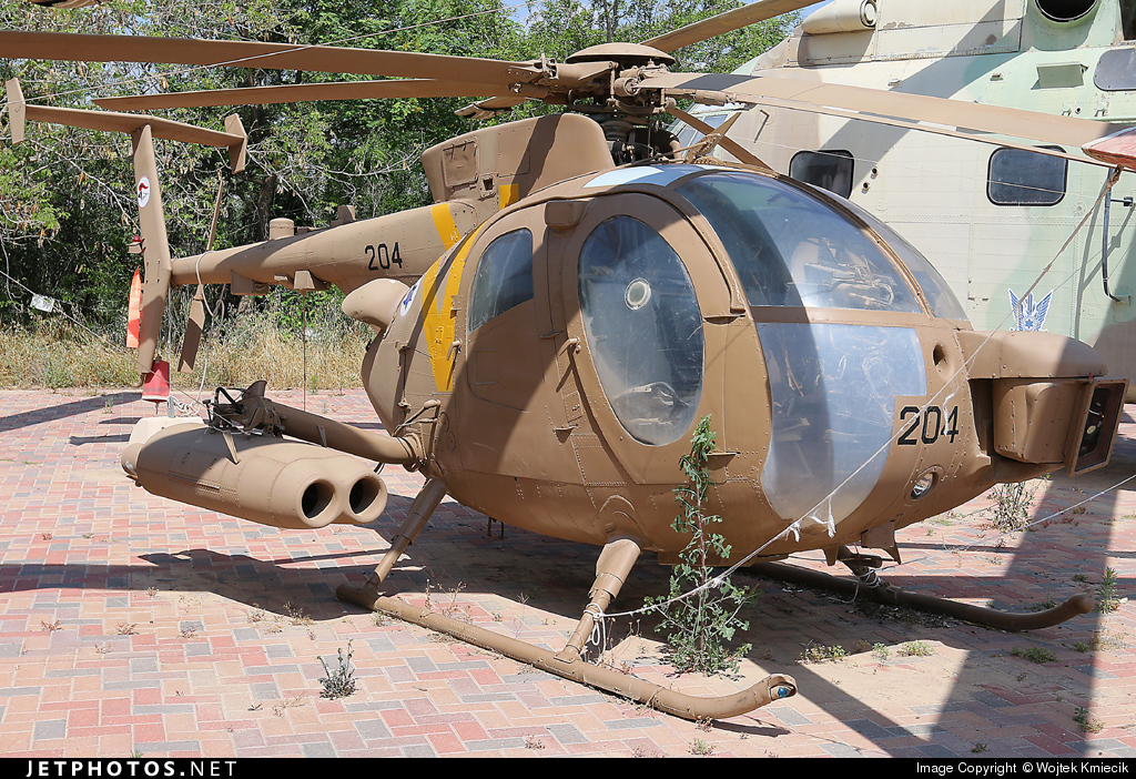 204 - Hughes 500M - Israel - Air Force