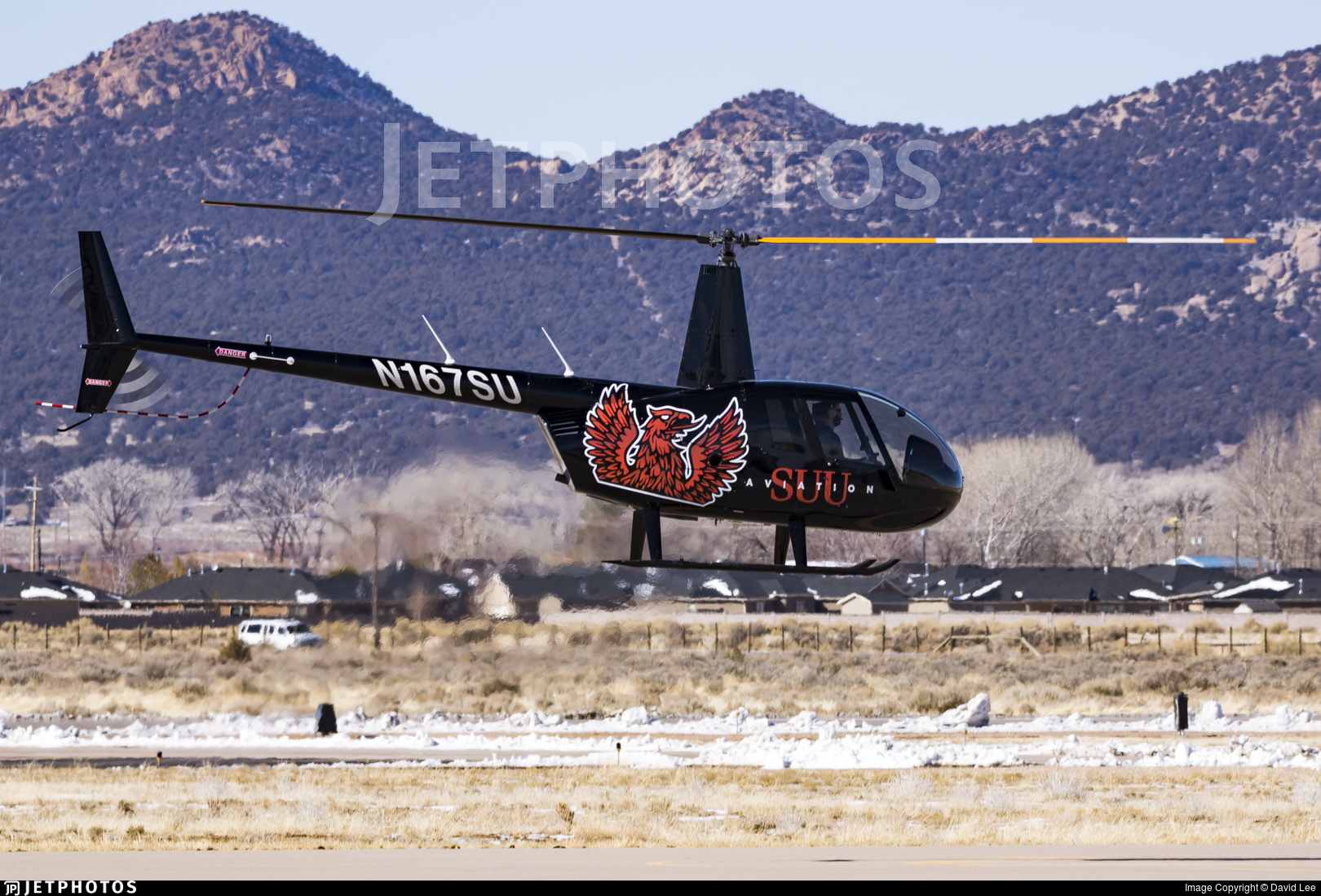 N167SU - Robinson R44 Cadet - SUU Southern Utah University Aviation