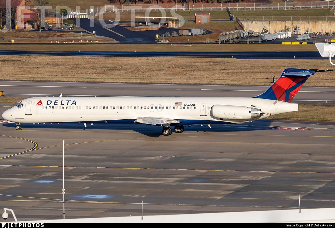 N965DL - McDonnell Douglas MD-88 - Delta Air Lines