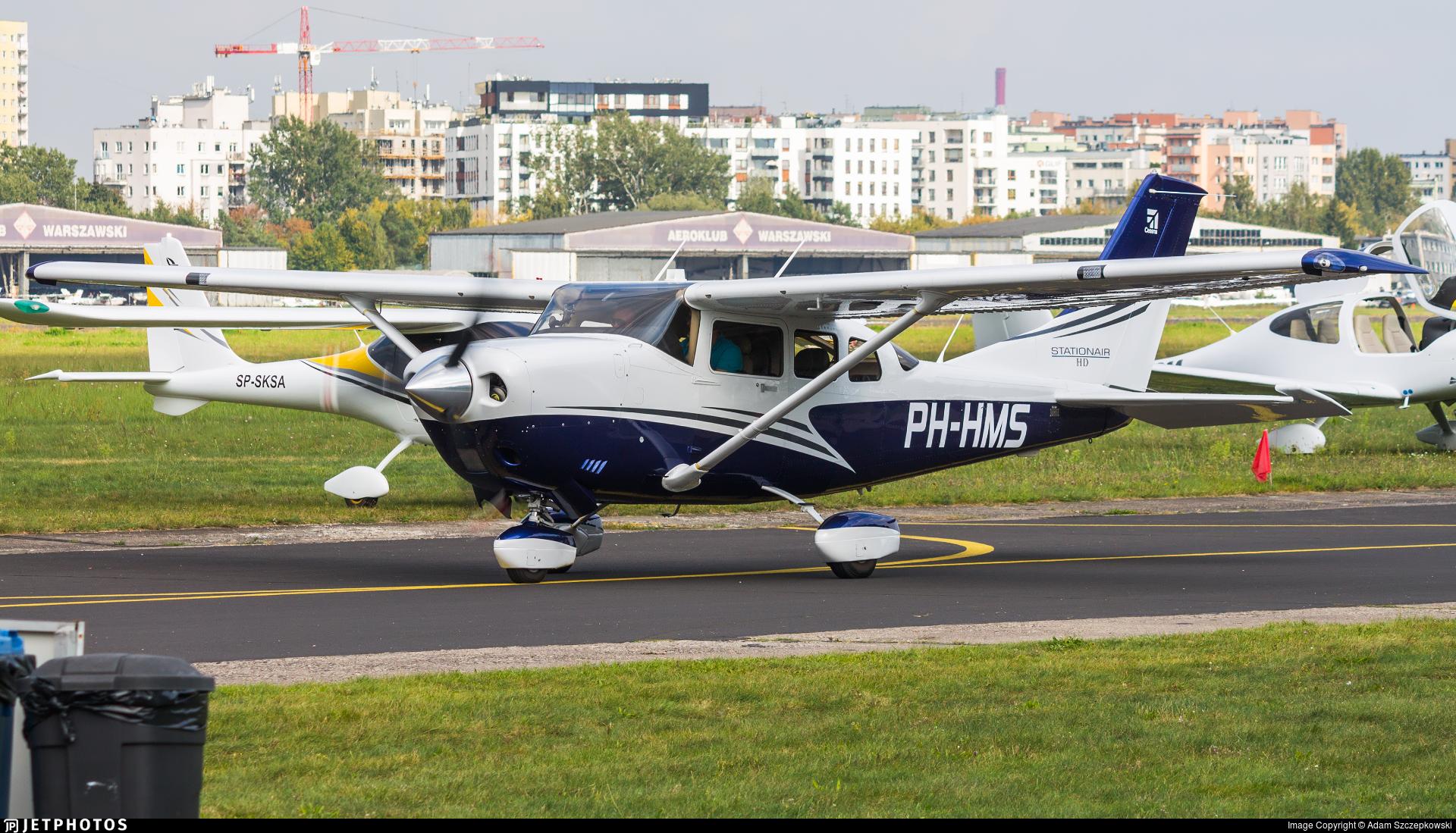 PH-HMS - Cessna T206H Turbo Stationair HD - Private