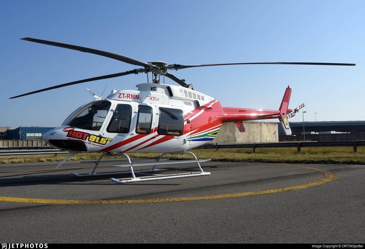 ZT-RMM - Bell 407GX - Private