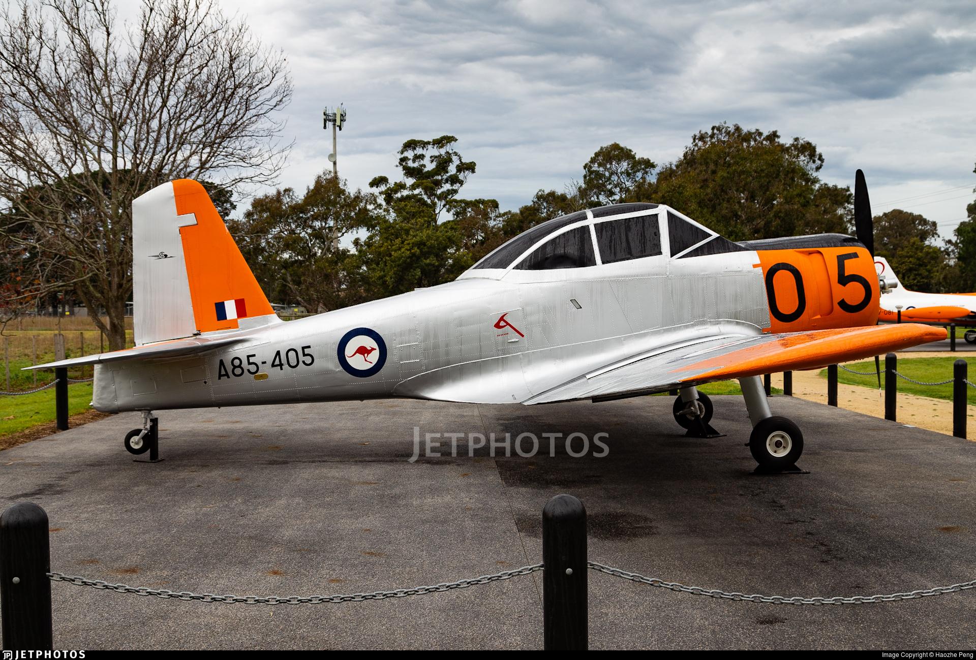 A85-405 - CAC CA-25 Winjeel - Australia - Royal Australian Air Force (RAAF)